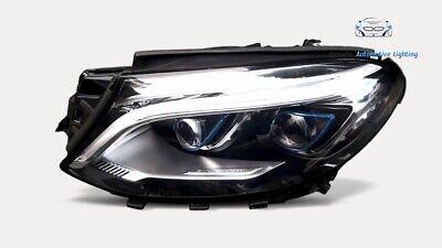 MERCEDES GLE W166 VOLL LED HYBRID SCHEINWERFER LINKS FARO PHARE TOP WIE NEU !!
