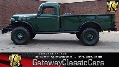 1946 Dodge Power Wagon -- 1946 Dodge Power Wagon  0 Green Pickup 230 CID I6 4 Speed Manual