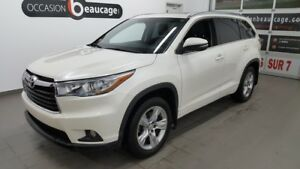 2014 Toyota Highlander Limited AWD, 7pl, navigation, hitch, toit