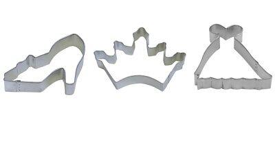 Princess Cookie Cutter Set - Crown 3.5