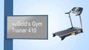 GOLD'S GYM TREADMILL TRAINER 410
