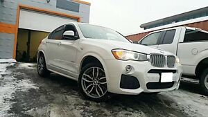 (NEW) 2017 BMW X4 M Package white awd