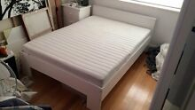 Double bed IKEA malm Naremburn Willoughby Area Preview