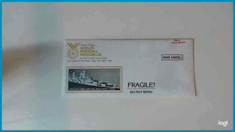 Gold Medal Models - Photo Etch Details BISMARCK / TIRPITZ 1:350