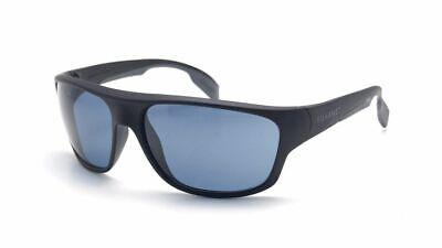 Vuarnet Sonnenbrille - Rennen 1402 Matt Schwarz / Blau Polarisierte Gläser