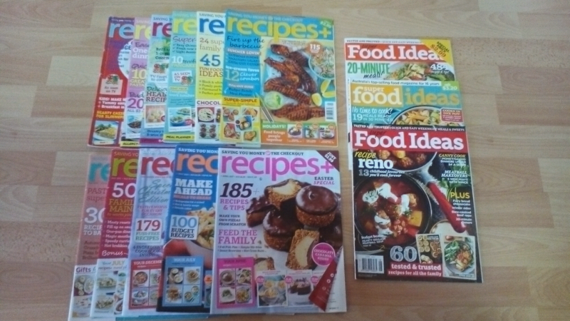 14 x recipes and super food ideas magazines magazines gumtree 14 x recipes and super food ideas magazines forumfinder Images