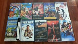 VHS Kids & Family Movie Pack - 10 Movies Oakden Port Adelaide Area Preview