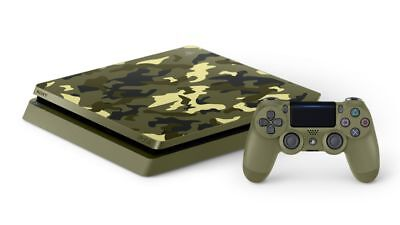 PlayStation 4 Slim 1TB Limited Edition Console Call of Duty WWII