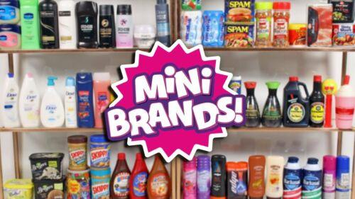 ⭐️ YOU PICK! Series 1- *Most $2.59* Zuru 5 Surprise Mini Brands Gold Ball WAVE 2