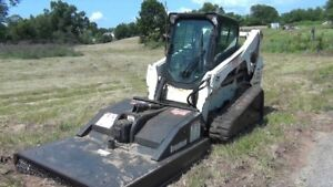 Bobcat forestry and brush cutting service