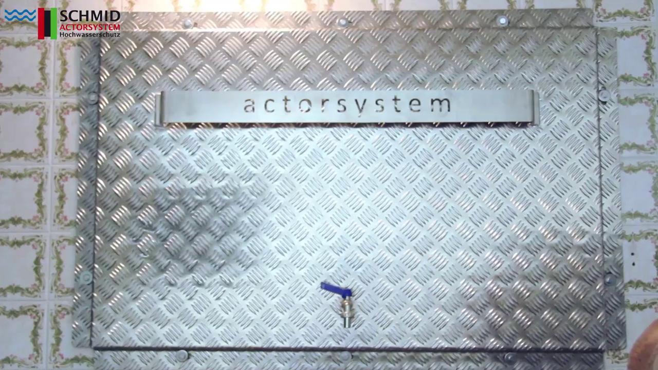 Überschwemmung Schutz für Kellerfenster Lichtschacht Innenmaß 105x80cm Selbstbau