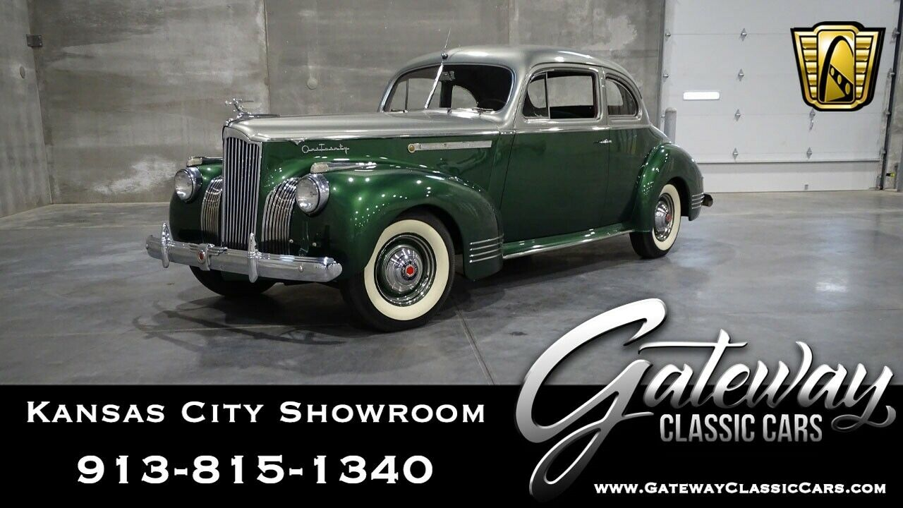 1941 Packard 120  Green/Silver 1941 Packard 120 Sedan Straight 8 3 Speed Overdrive Available Now!