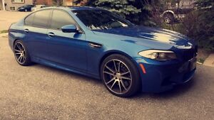 2013 bmw M5 factory warranty blue
