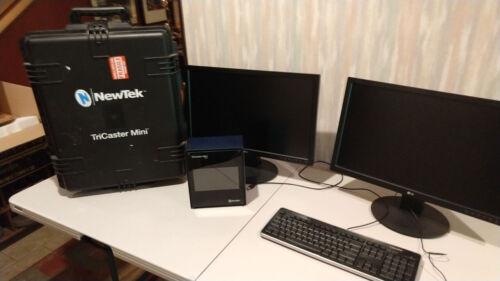 TriCaster Mini HD-4i with Monitors
