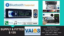 CAR STEREO with BLUETOOTH/USB/SD /MP3 IPOD/IPHONE ANDROID BT $120 Brisbane City Brisbane North West Preview