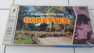 SQUATTER - The Austalian Wool Board Game VINTAGE 1960 Coomera Gold Coast North Preview