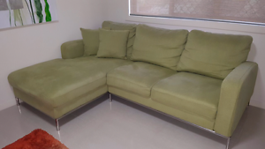Lounge 3 seater with Chaise Bonogin Gold Coast South Preview