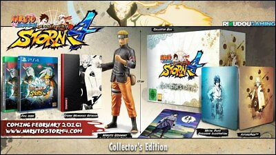 Naruto Shippuden: Ultimate Ninja Storm 4 Collector's Edition (PS4) for sale  Shipping to Canada