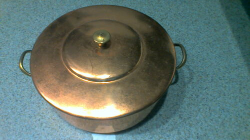 ODI Copper Pan with Lid