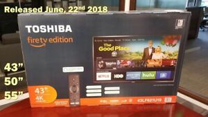 Brand new Toshiba fire  TV for parts