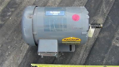 Baldor M3554 13hp Three Phase Electric Motor - Xlnt W 30 Day Warrantee