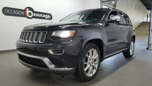 2014 Jeep Grand Cherokee Summit, cuir, toit ouvrant, navigation