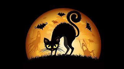 Halloween Decoration Ghosts Goblins Pumpkins Scary Walking Dead FRIDGE MAGNET #4 - Scary Halloween Pumpkins
