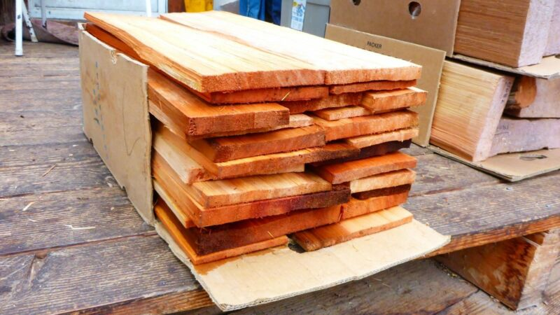 Handsplit Cedar Shakes - Premium Quality - Taper - 24 inch