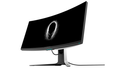 """Alienware AW3821DW 38"""" QHD+ IPS LED Curved Gaming Monitor"""