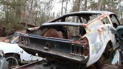 1967 Ford Mustang Fastback Original Parts And Accessories For Sale