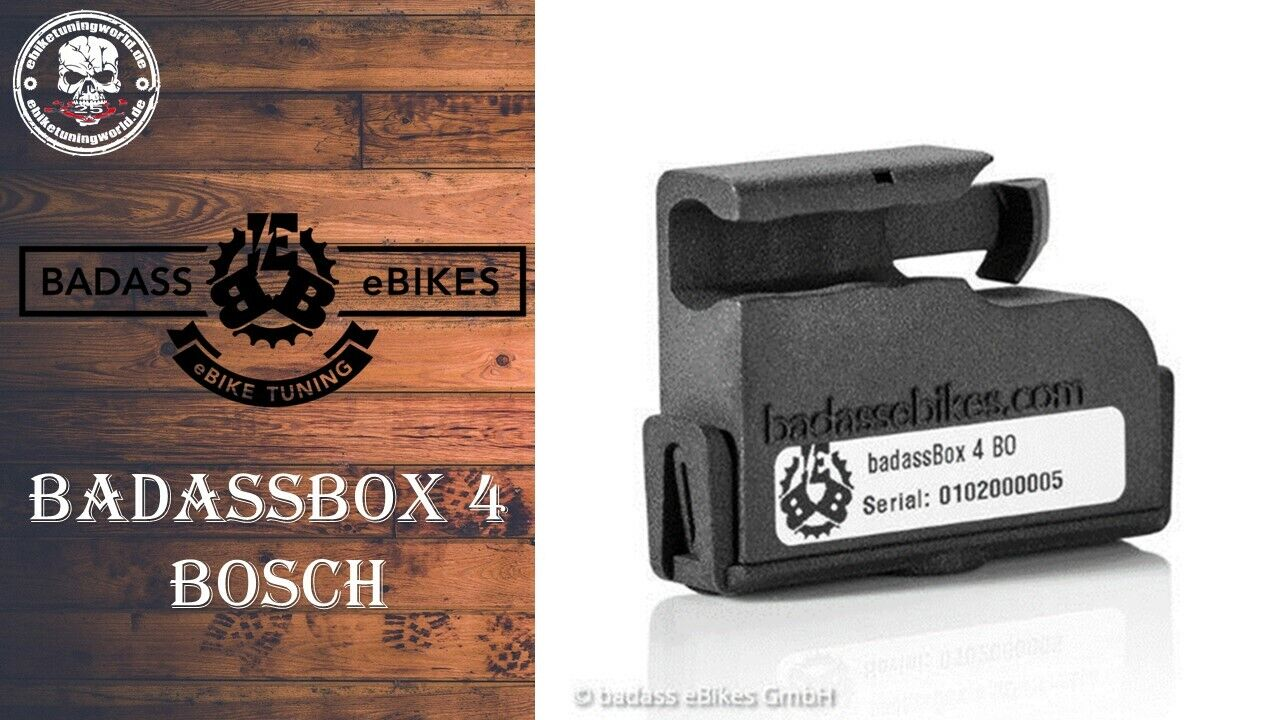 badassBox 4 Bosch E-Bike Tuning Pedelec Tuning Ebike Tuning Chip