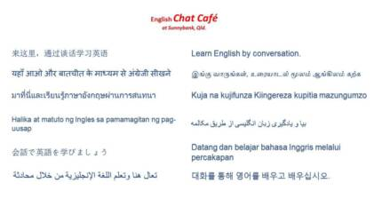 Chat Cafe - English classes & tuition at Sunnybank