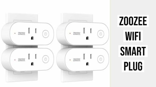 Zoozee Smart Wifi Plug  SA102 (4 PCS)