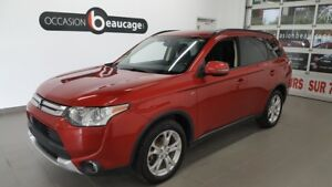 2015 Mitsubishi Outlander SE AWD, 7 places, toit ouvrant, hitch