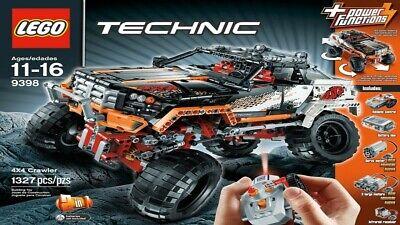 playLEGO Technic 4X4 Crawler (9398)
