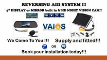 Reverse camera with 5'' Display / Mirror HD, FULLY INSTALLED Brisbane City Brisbane North West Preview