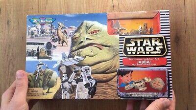 Star Wars Micro Machines JABBA MOS EISLEY ACTION Set 1997 NIB SEALED GALOOB
