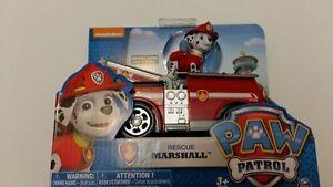 paw patrol pat patrouille figurine marcus vehicule neuf camion pompier ebay. Black Bedroom Furniture Sets. Home Design Ideas