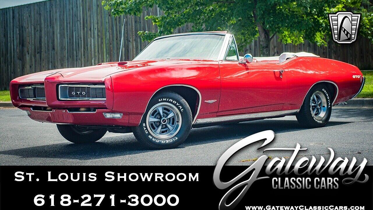 1968 Pontiac GTO  Red 1968 Pontiac GTO Coupe 6.5L V8 4 Speed Manual Available Now!