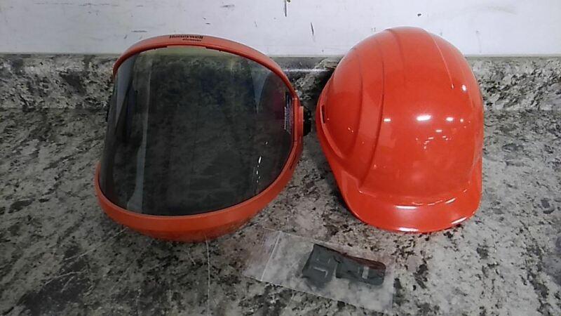 Salisbury AS2000HAT-SPL One Size Fits Most Orange Arc Flash Faceshield