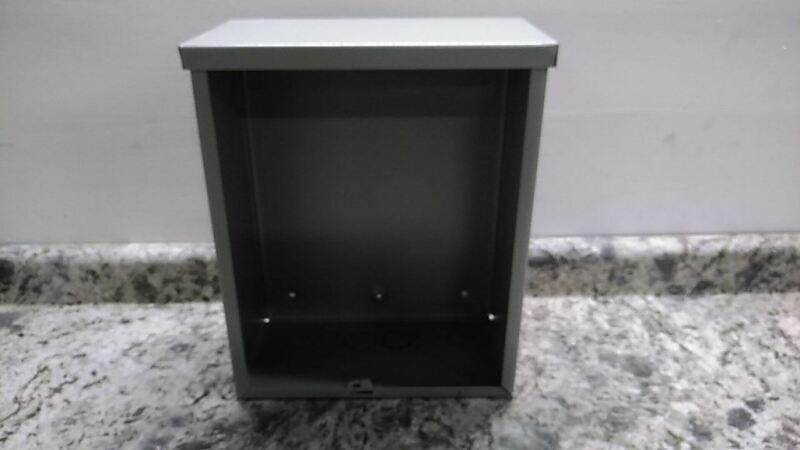 Wiegmann Rsc121506 15 In H 12 In W 6 In D Metallic Enclosure (aw)