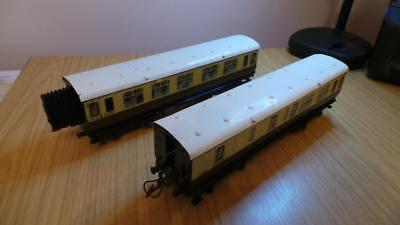 Used, HB82: Hornby O gauge GWR Bogie Passenger Coaches x 2 for sale  Shipping to Ireland