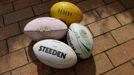 Steeden and miscellaneous Rugby League Footballs Randwick Eastern Suburbs Preview