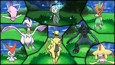 Ultra Pokemon Sun and Moon All 83 Legendary Pokemon 6IV-EV Trained