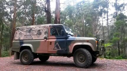 1988 Land Rover Perentie (One Ten Ute) Ferntree Gully Knox Area Preview