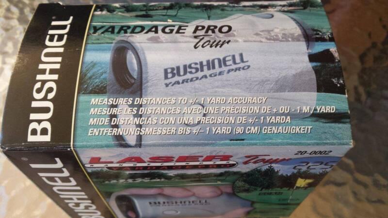 Bushnell Entfernungsmesser Yardage Pro : Bushnell yardage pro laser golf range finder bonus puttg prtner