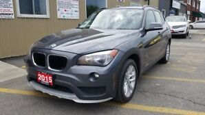 2015 BMW X1 AWD-1 OWNER OFF LEASE-PREMIUM PKG-SUNROOF-LEATHER