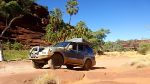 Mitsubishi Pajero Rooftoptent 4WD 4x4 Cairns Cairns City Preview