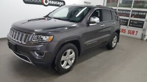 """2014 Jeep Grand Cherokee LIMITED, cuir, toit ouvrant, écran 8"""""""""""