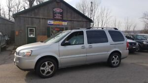 2007 Chevrolet Uplander LT, DVD, Alloys, CERTIFIED